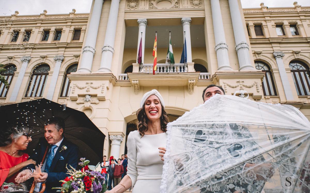 Boda en Málaga y en Castillo Santa Catalina.